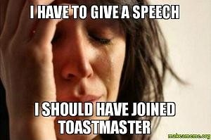 funny toastmasters