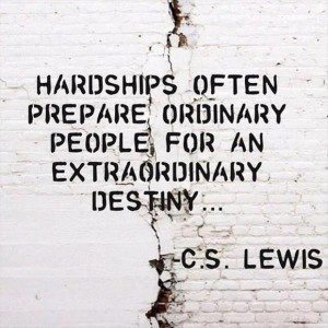 hardship shapes you