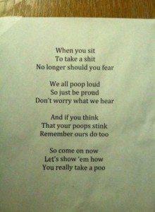 everyone goes poop