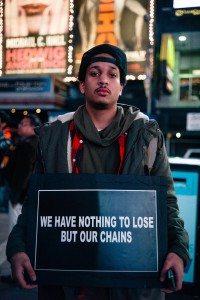 chains tie us