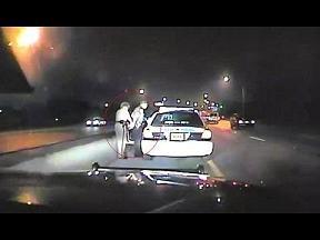 cop under arrest
