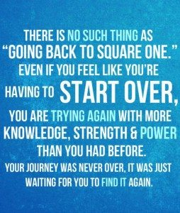 square one start over