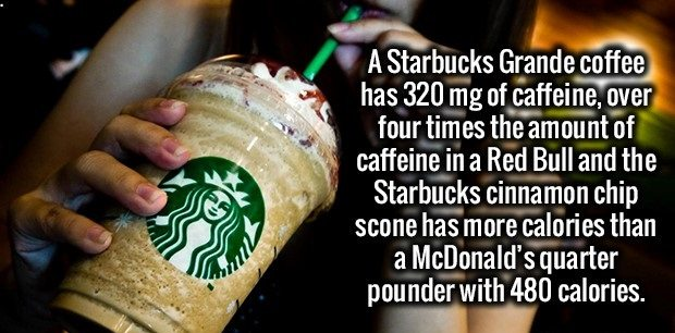 starbucks is bad for you