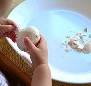The Easiest Way To Peel A Hard Boiled Egg [VIDEO]