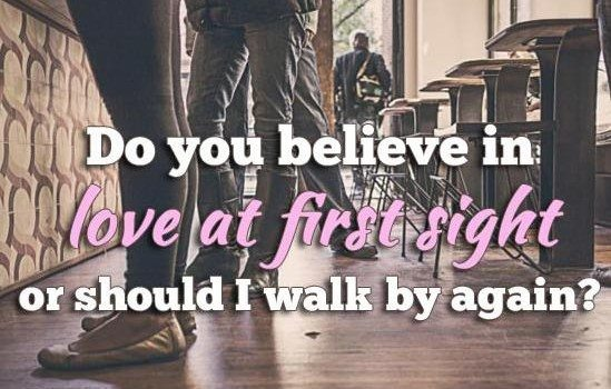 Is It Possible To Fall In Love With Someone At First Sight? [VIDEO]
