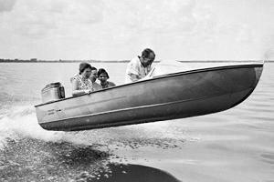 boat flying explorer
