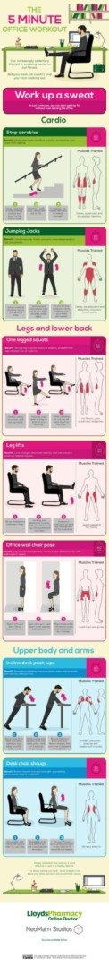 work out at  your chair