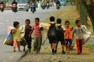 children born with no hope in poverty