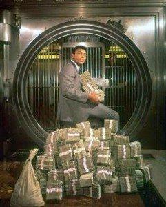 ali money and power