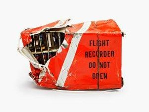 black box from a plane