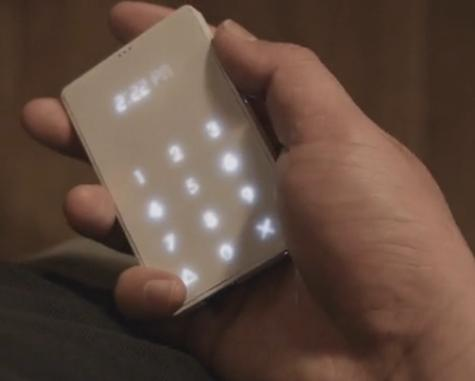 The Light Phone kickstarter project