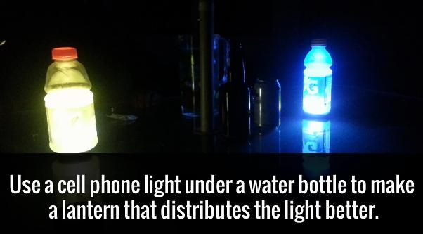 light it up with your cell phone