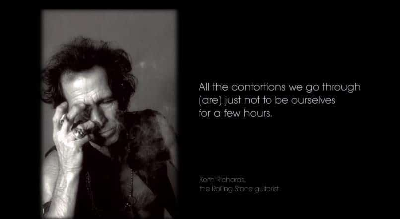 keith richards addiction