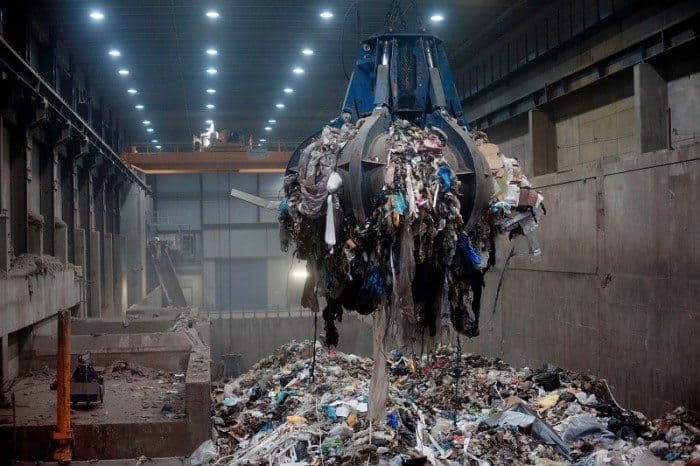 imported garbage into sweden