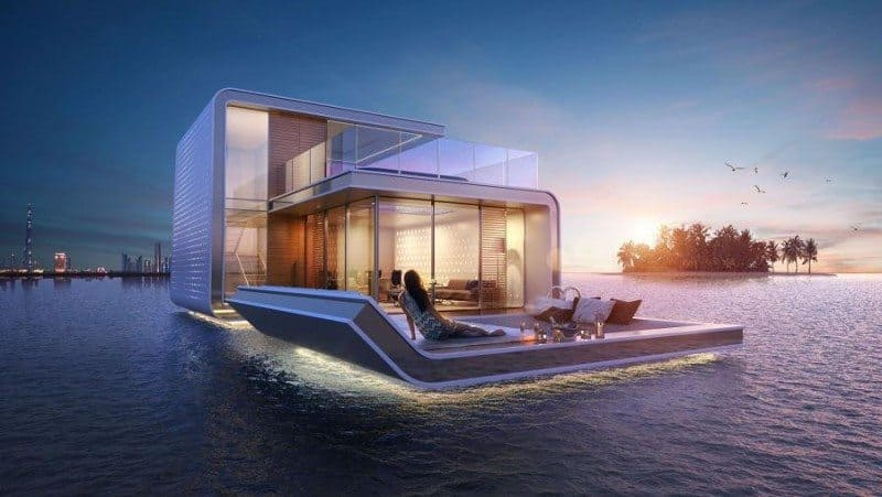 dream home that floats