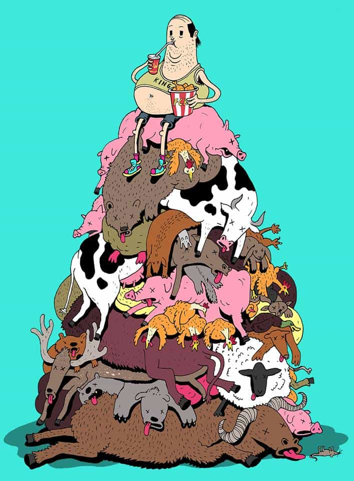 steve cutts - animal hill