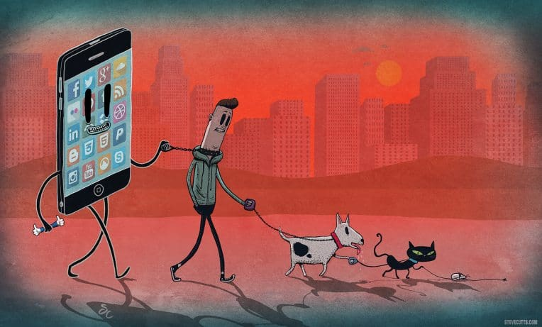 steve cutts - chain of commands
