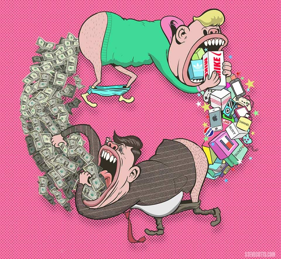 steve cutts - circle of life