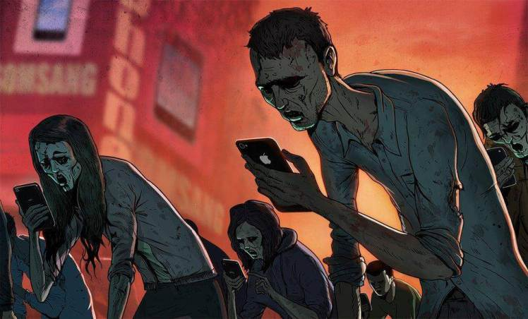 steve cutts - zombie