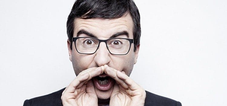 John Oliver Speaks Some Serious Truth Into Topic Of Mental Health