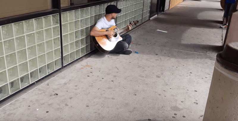 Jesse Rya - outside kroger