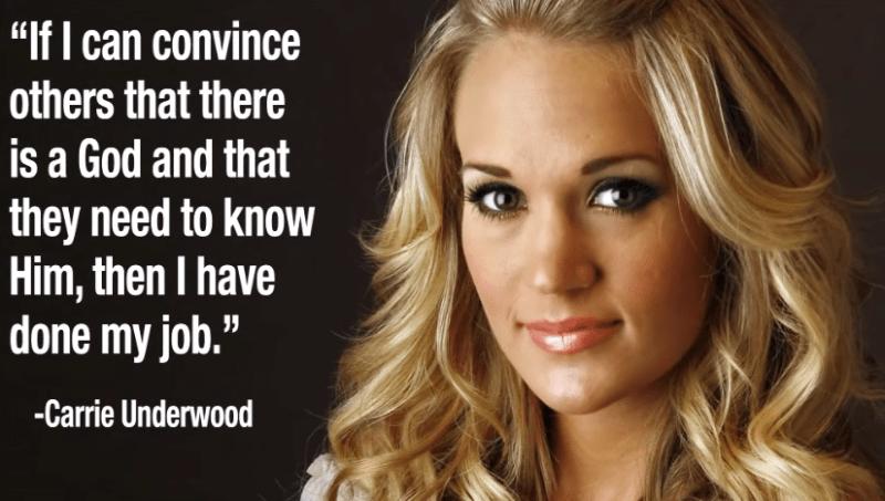 Mrs.Underwood - God