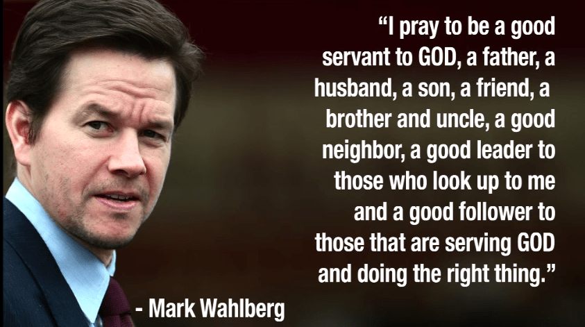 Mr. Wahlberg - God