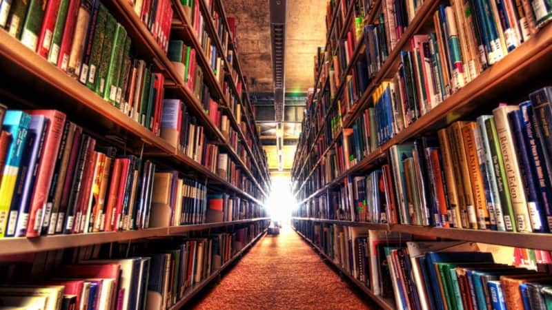 start your education journey in the library
