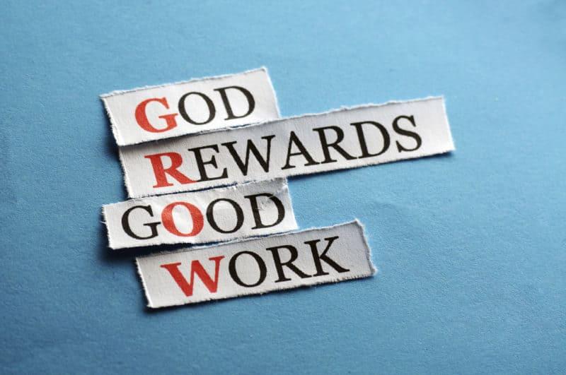 God first, business second