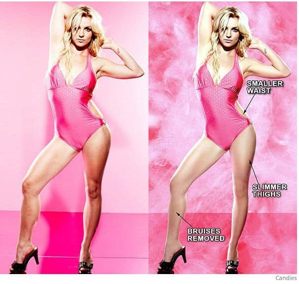 fake celebrities and photoshop distortion - 11