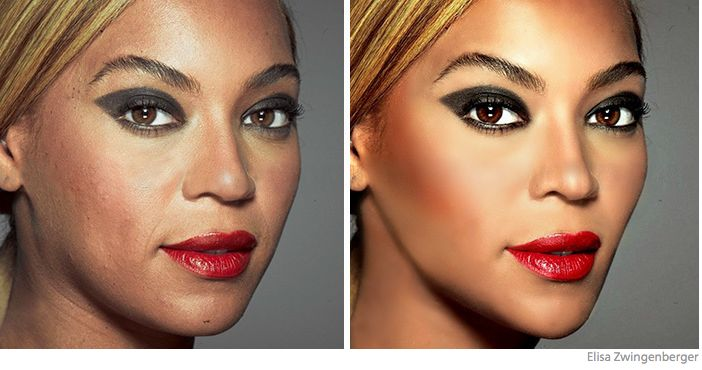 fake celebrities and photoshop distortion - 9
