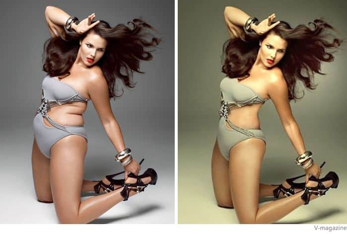 fake celebrities and photoshop distortion - 6