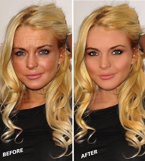 fake celebrities and photoshop distortion - 4